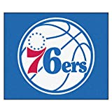 FANMATS 19468 NBA - Philadelphia 76ers Tailgater Rug , Team Color, 59.5''x71''