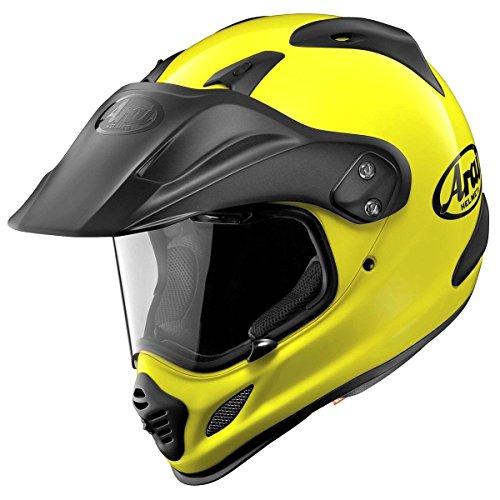 Medium Arai Helmets - Arai XD4 Fluorescent Yellow Dual Sport Helmet - X-Large