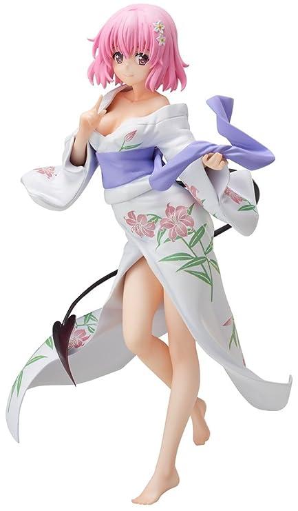 FREEing to Love-Ru Darkness: Momo Belia Deviluke PVC Figure (Yukata  Version) Statue
