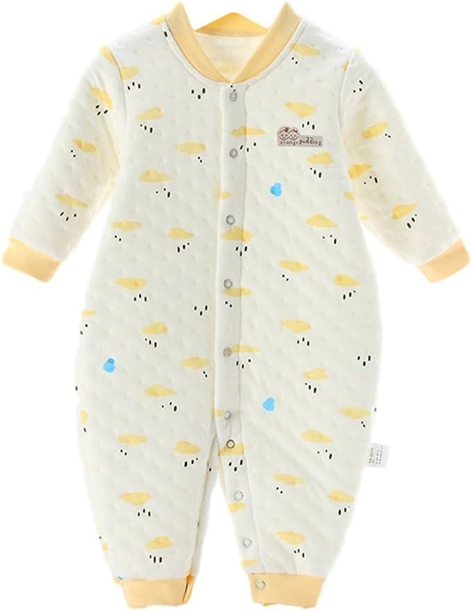 Chickwin Pijamas de bebé, Puros cálidos de algodón otoño e ...