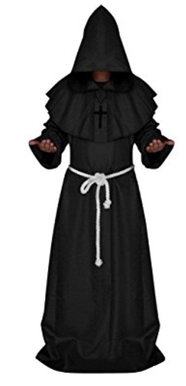YOGLY Disfraz de Halloween Escudo Capa con Capucha Robe ...