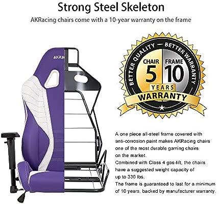 AKRacing AK-SX-Lavender - Silla (Violeta): Amazon.es: Hogar