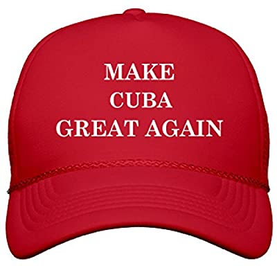 Make Cuba Great Again: OTTO Solid Color Snapback Trucker Hat