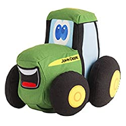 John Deere 7 Inch Plush Johnny Tractor & Friends - Johnny Tractor