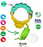 Boxiki kids Baby Food Feeder With Rattle