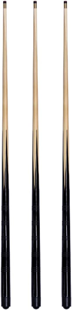 E-Service Europe Ltd 3 trade 4ft,48 inches pool snooker cues 10mm screw on tips