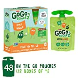 GoGo squeeZ Applesauce on the Go, Apple Mango, 3.2 Ounce Portable BPA-Free Pouches, Gluten-Free, 48 Total Pouches (12 Boxes with 4 Pouches Each) For Sale