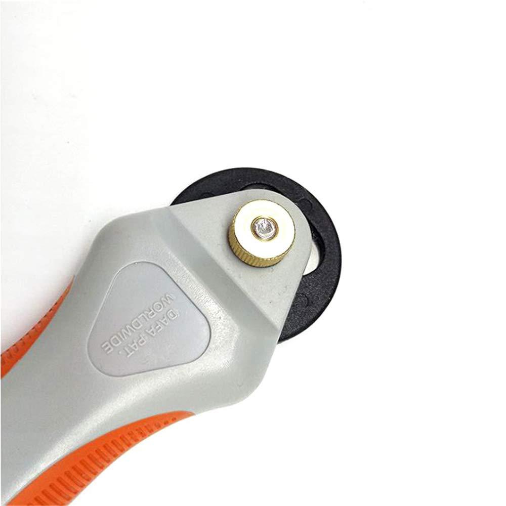 Pelle Moquette Taglierina Elettrica per Tessuto Mini Macchina Portatile Tonda Portatile Tonda Diametro Utensile 45mm per Taglio Tessuto