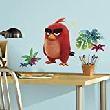 good looking angry birds decals RoomMates Angry Birds The Movie Red Peel and Stick Giant Wall Decals