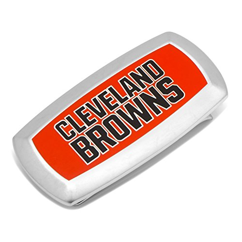 NFL Cleveland Browns Cushion Money Clip, Officially Licensed