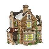 Department 56 Dickens' Village Lea Hurst House Lit Building
