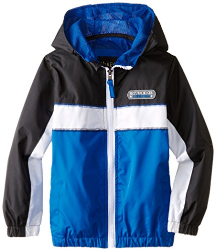 iXtreme Little Boys' Colorblock Athletic Jacket, Royal, 6