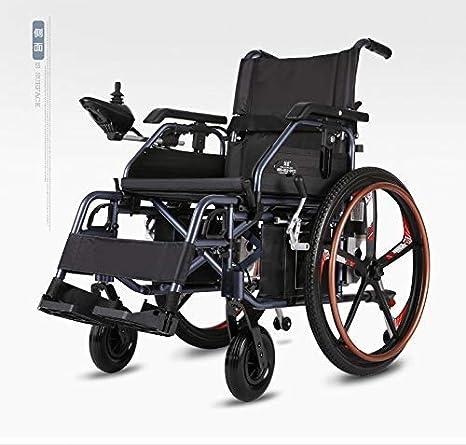 TWL LTD-Wheelchairs Ligero Plegable Smart Drive Motor Silla de Ruedas Normal Silla de Ruedas Eléctrica para Mayores