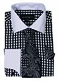 George's Small Check Fashion Shirt With Matching Tie - Best Reviews Guide