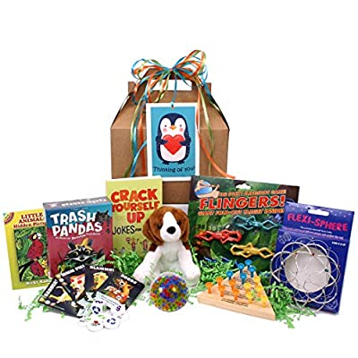 Beyond Bookmarks Dogtails Kid's Get Well or Special Occasion Gift Pack: Toys & Games