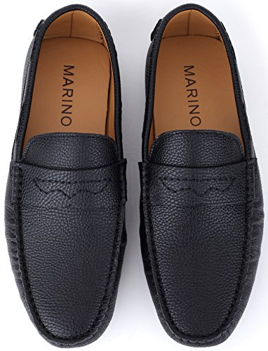 56e67025c201 Mio Marino Mens Loafers - Italian Dress Casual Loafers for Men - Slip-on  Driving