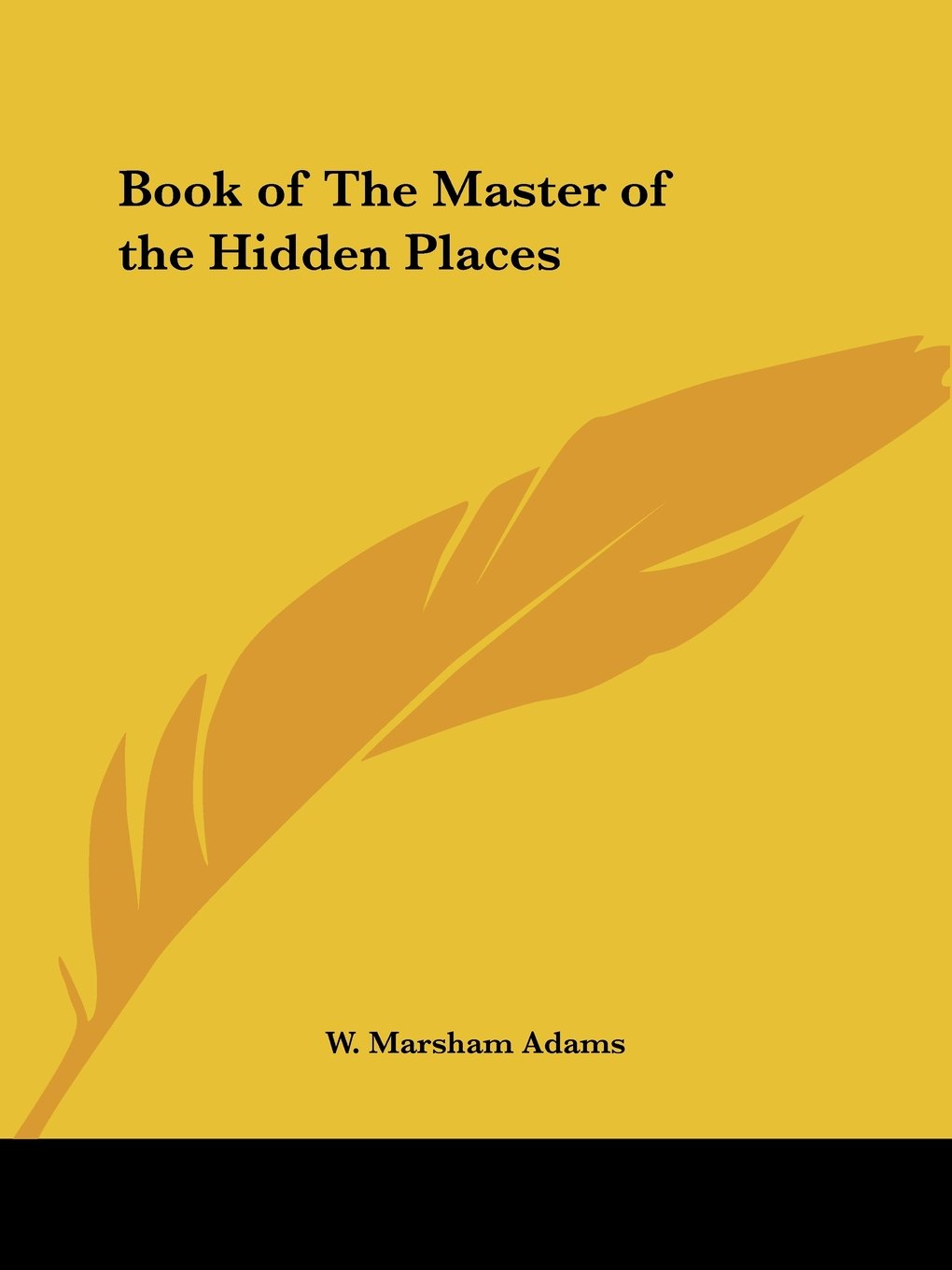 Book of The Master of the Hidden Places pdf epub