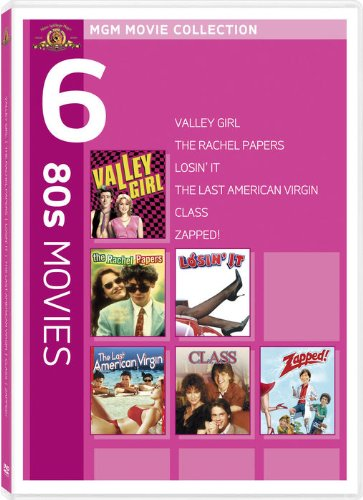 MGM Movie Collection: 80s Movies (Valley Girl / The Rachel Papers / Losin' It / The Last American Virgin / Class / Zapped!)