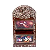 Indian Handicrafts Export Embosed Work Key Stand and Magzine Holder