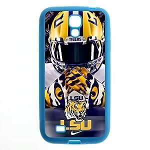 meilz aiaiPurple Protective NCAA Lsu Tigers Colorful Samsung Galaxy S4 I9500 Case Cover TPU University Football Nike just do it logo Helmetmeilz aiai