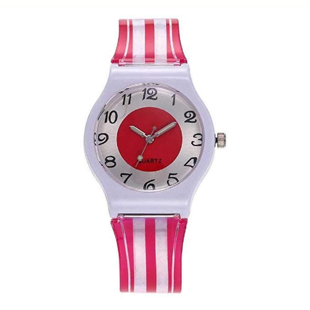 Despacho de Moda Reloj! WSSVAN Ginebra plástico Transparente PVC ...