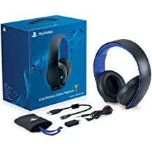 PS Gold Wireless Stereo Headset - Gold Wireless headset (English-only) Edition