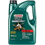 Castrol 03060 GTX MAGNATEC 0W-20 Full Synthetic Motor Oil, 5 Quart, 3 Pack