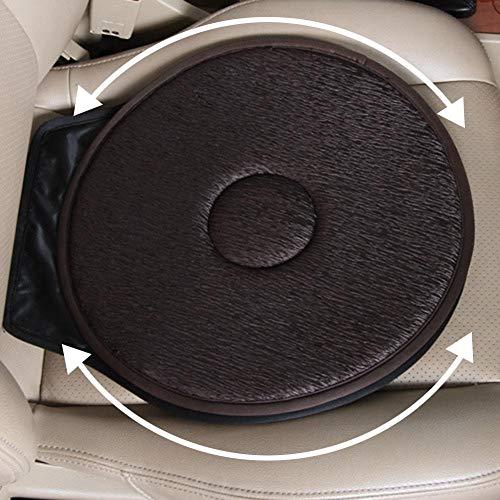 (AjaxStore - New Non-slip Auto Car Seat Revolving Rotating Cushion Memory Swivel Foam Mobility Aid Seat Cushion in Chair car-styling)