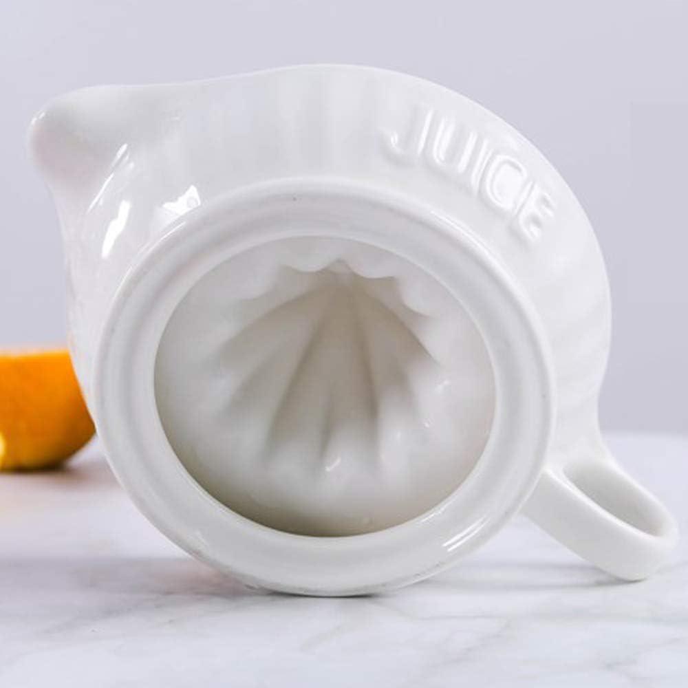 TAMUME Porcelaine Blanche Presse Citron et Presse Agrumes