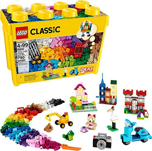 LEGO Classic Large Creative Brick Box 10698 Build Your Own Creative Toys, Kids Building Kit (790 Pieces) from LEGO