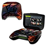 nvidia shield portable - MightySkins Protective Vinyl Skin Decal NVIDIA Shield Portable Cover wrap Skins Sticker Fire Dragon