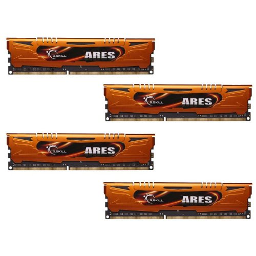 G.Skill 16GB  DDR3 PC3-17000 2133MHz Ares Series Low Profile (11-11-11) Quad Channel Kit F3-2133C11Q-16GAO