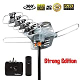 Five Star Outdoor 150 Mile Motorized 360 Degree Rotation OTA Amplified HDTV Antenna