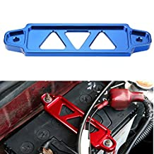 Dewhel Racing Billet Battery Tie Down HONDA ACURA S2000 EG EK DC2 CIVIC Color (Blue)
