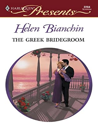 book cover of The Greek Bridegroom