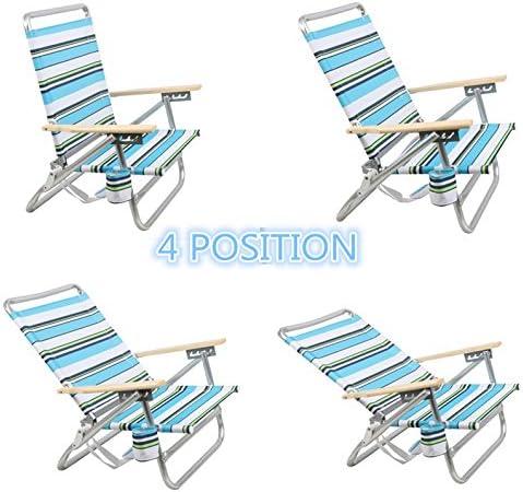 new Aluminum beach chair set pink 54x40x71 cm FREE shipping peninsula