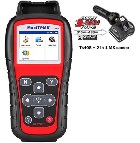 Autel MaxiTPMS TS408Pro TPMS Service Activate Relearn Tool Programs MX-Sensors(Advanced