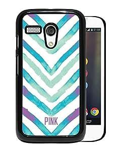 Beautiful Designed Victoria's Secret Love Pink Cover Case For Motorola Moto G in Black Phone Case 59
