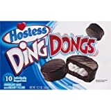 Hostess Ding Dongs - Chocolate Cake With Creamy Filling -10ct,  Pack of 2