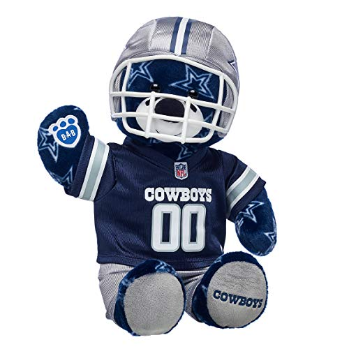Build A Bear Workshop Workshop Dallas Cowboys Teddy Bear Gift Set