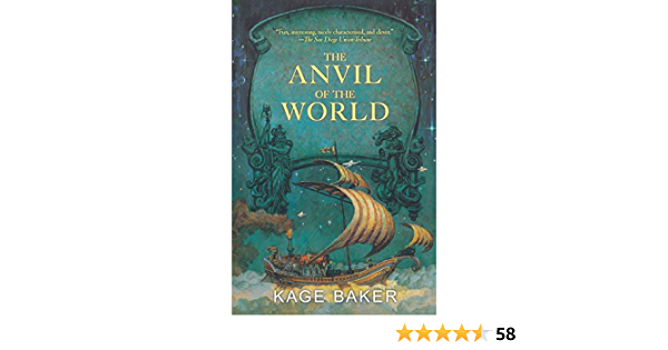 Ebook The Anvil Of The World Lord Ermenwyr 1 By Kage Baker