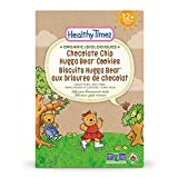 Healthy Times Organic Hugga Bear Cookies for Kids, Chocolate Chip | For Toddlers, 12 Months and Older | 184 g Box, 1 Count