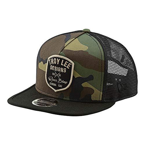 (Troy Lee Designs New Era Men's Vintage Race Shop Snapback Hat (One Size, Camo))