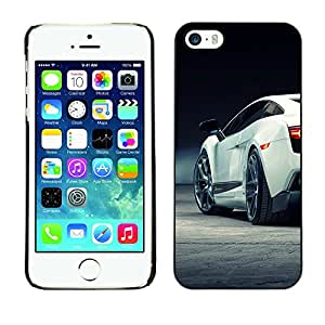 LECELL--Funda protectora / Cubierta / Piel For iPhone 5 / 5S -- Super Car Sexy Racing --