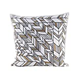 Golden Arrows pillow With Goose Down Insert