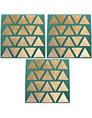 """Set of 3-14"""" x 14"""" Silicone Sheets for Excalibur Dehydrator Bright Kitchen Re-Usable Non-Stick Mat"""