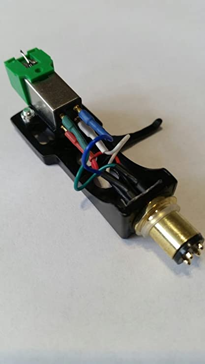 NUEVO Audio Technica Cartucho de AT91 + headshell ligero para HiFi ...