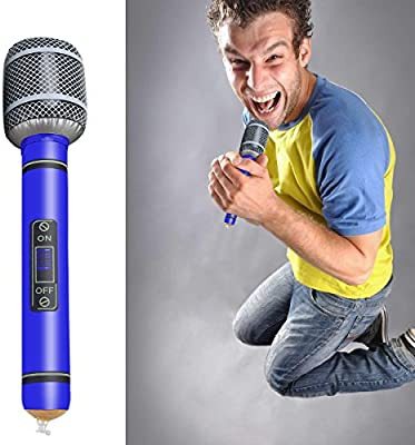 VORCOOL 6pcs hinchable micrófono 24 cm niños juguete - Color ...