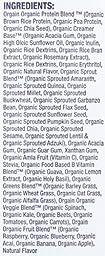 Orgain Organic Plant Based Meal Powder, Vanilla Bean, 2.01 Pound, 1 Count