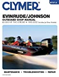 The Evinrude/Johnson Two-Stroke Outboard Shop Manual 85-300, 1995-1998 (Includes Jet Drive Models), Clymer Publications Staff, 0892877138